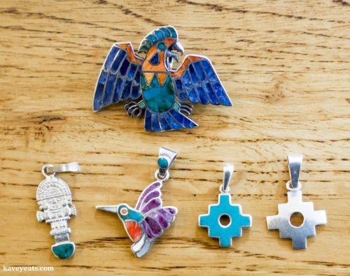 Silver Jewellery from Peru