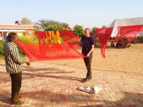 Rajasthani Tie-Dye (Indian Bandhani)