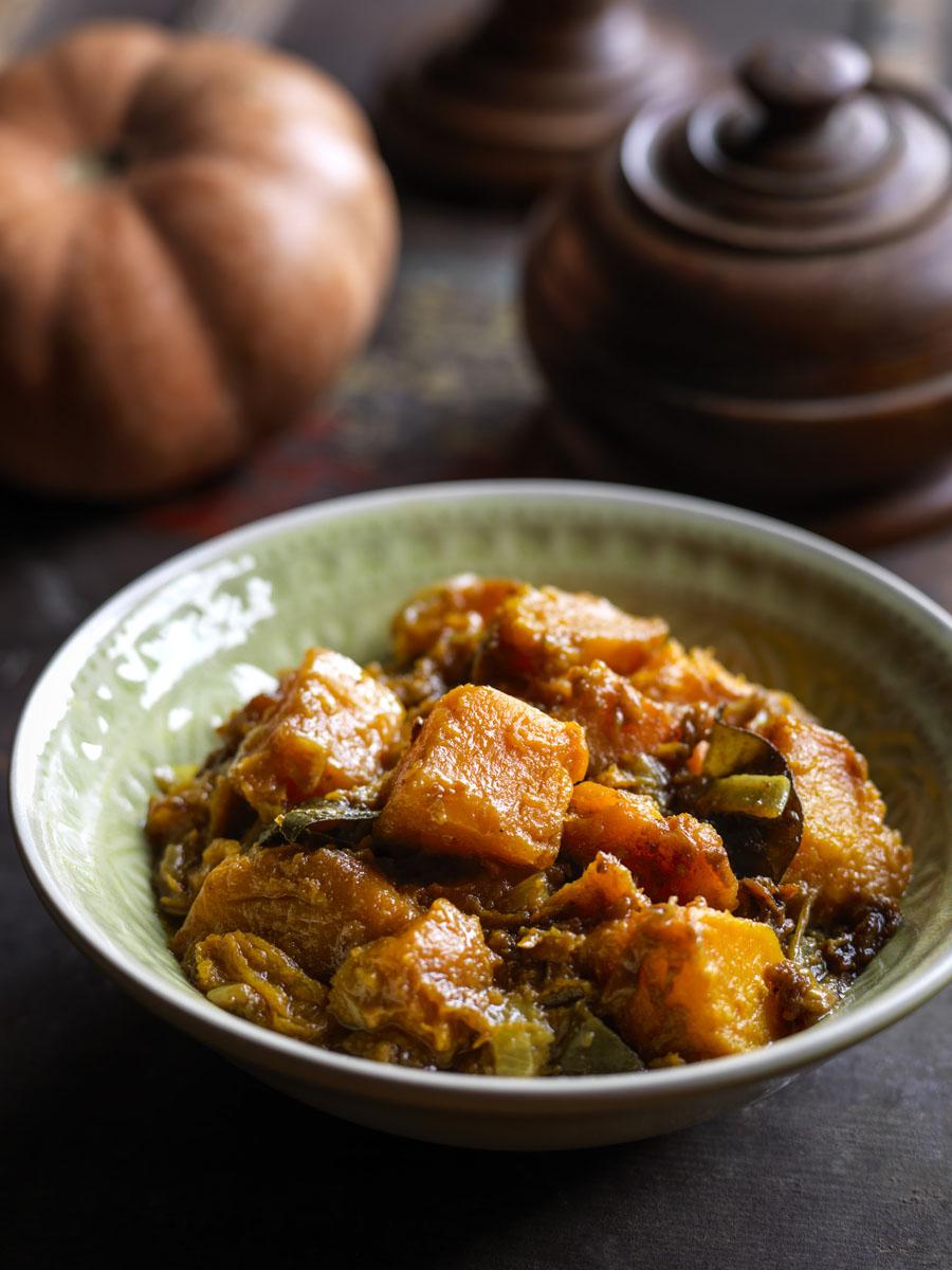 Burmese Golden Pumpkin Curry from MiMi Aye's Mandalay