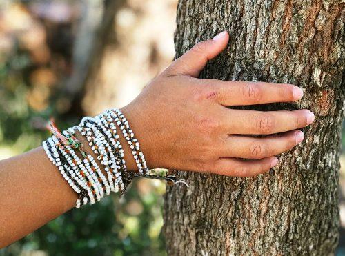 Senkapa Peruvian wrap bracelet (wristband)