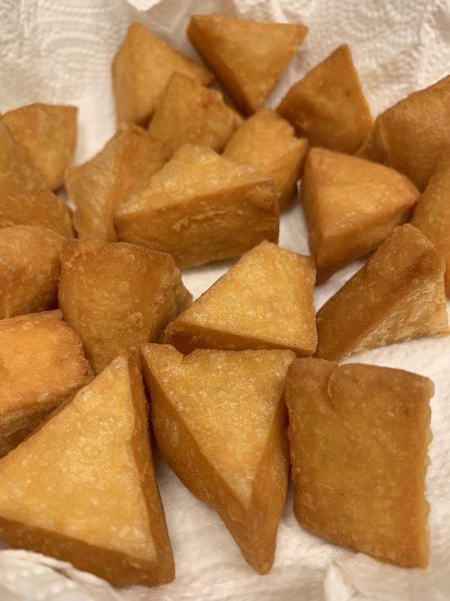 Burmese Tofu Fritters