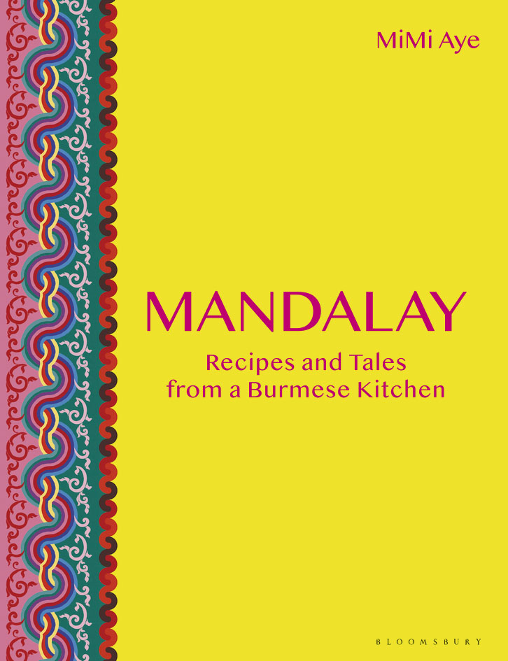 MiMi Aye, author of Burmese cookery book, Mandalay