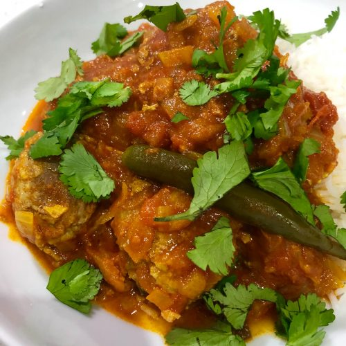 Burmese Meatball Curry