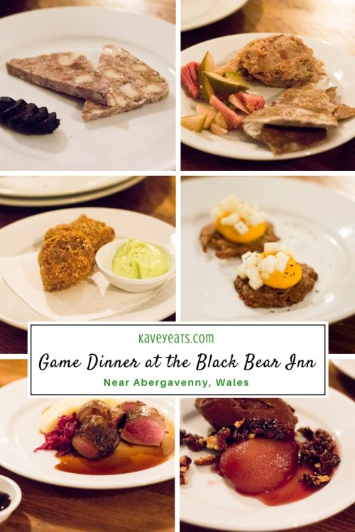 Review of The Black Bear Inn's Game Dinner - Kavey Eats