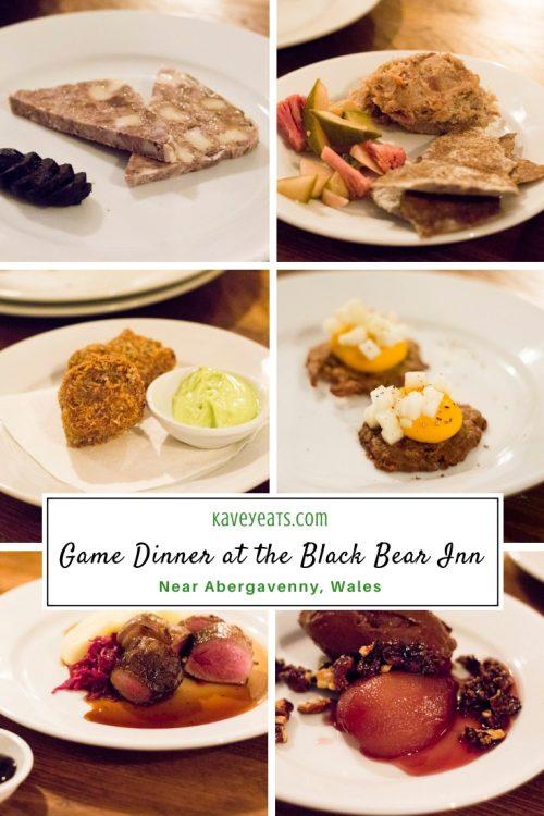 Review of The Black Bear Inn's Game Dinner - Kavey Eats