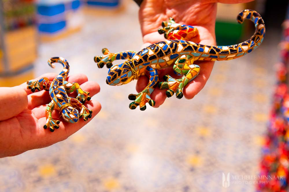 Ceramic Lizards from Gran Canaria, Spain
