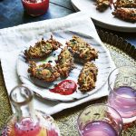Sabrina Ghayour's Turmeric, Spinach & Sweet Potato Fritters