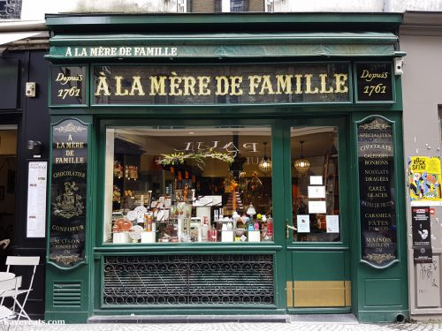 French Chocolate Shop