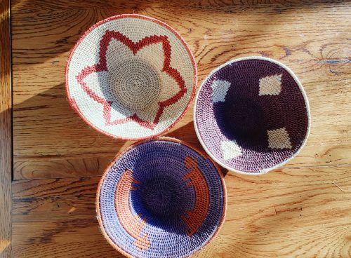South African Woven Bowls