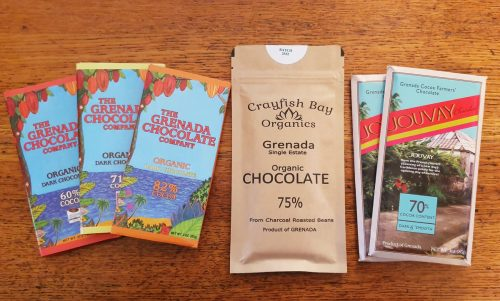Grenada chocolate bars