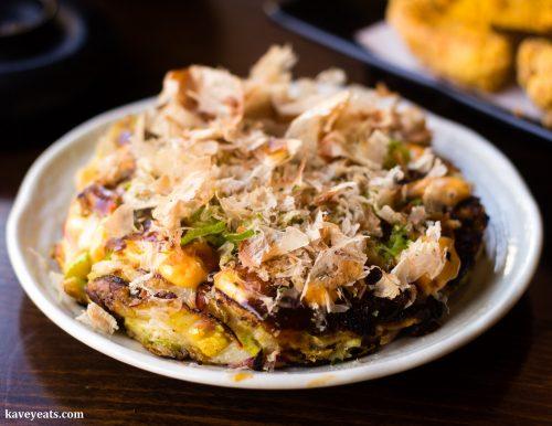 Okonomiyaki at Koj Cheltenham Restaurant