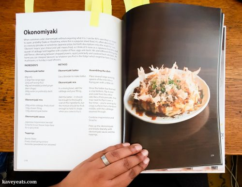 Okonomiyaki Recipe from No Sushi by Andrew Kojima