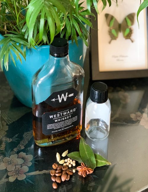 Making Spice-Infused Whiskey