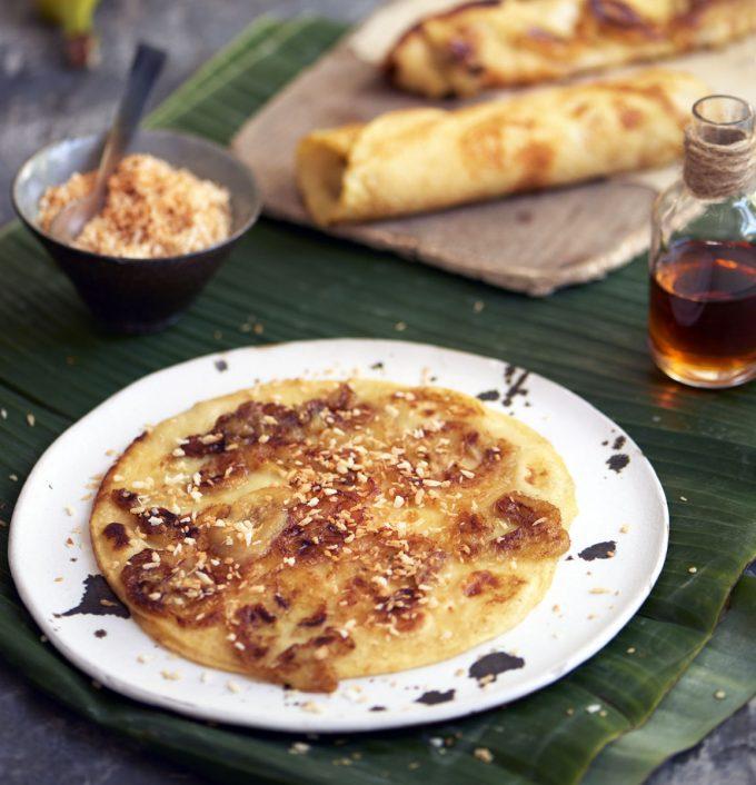 Bali Banana Pancakes