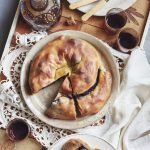 Romanian Apple and Blueberry Swirl Pie (Invartita)