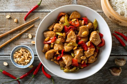 Chinese Sichuan Kung Pao Chicken