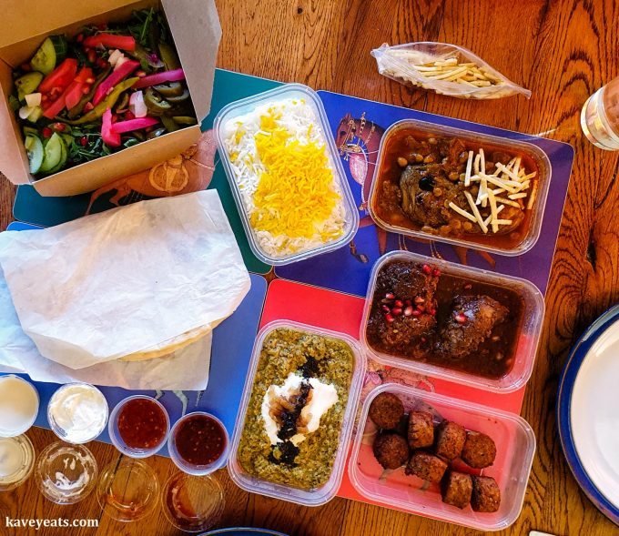 A takeaway Persian feast from Taste of Persia, Monmouthshire