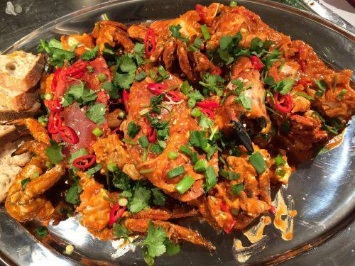 Malaysian Chilli Crab