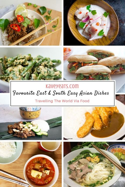 Great Recipes From East and South East Asia