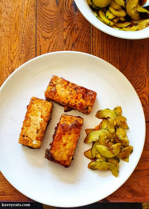 Teriyaki Tofu from Japanese Food Made Easy by Aya Nishimura