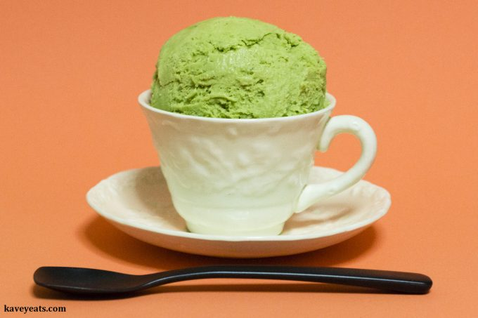 Quick Matcha Ice Cream