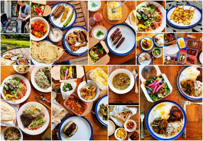 Persian feasts from Taste of Persia, Monmouthshire
