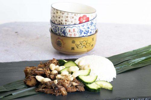 Malaysian Vegan Nasi Lemak
