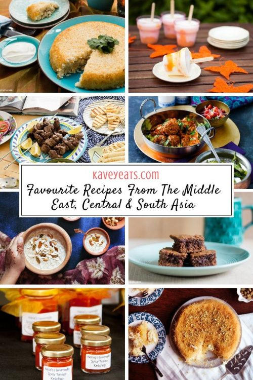 Favourite Recipes From The Middle East, Central & South Asia