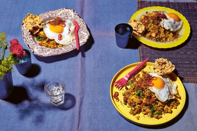 Indonesian Chicken Nasi Goreng