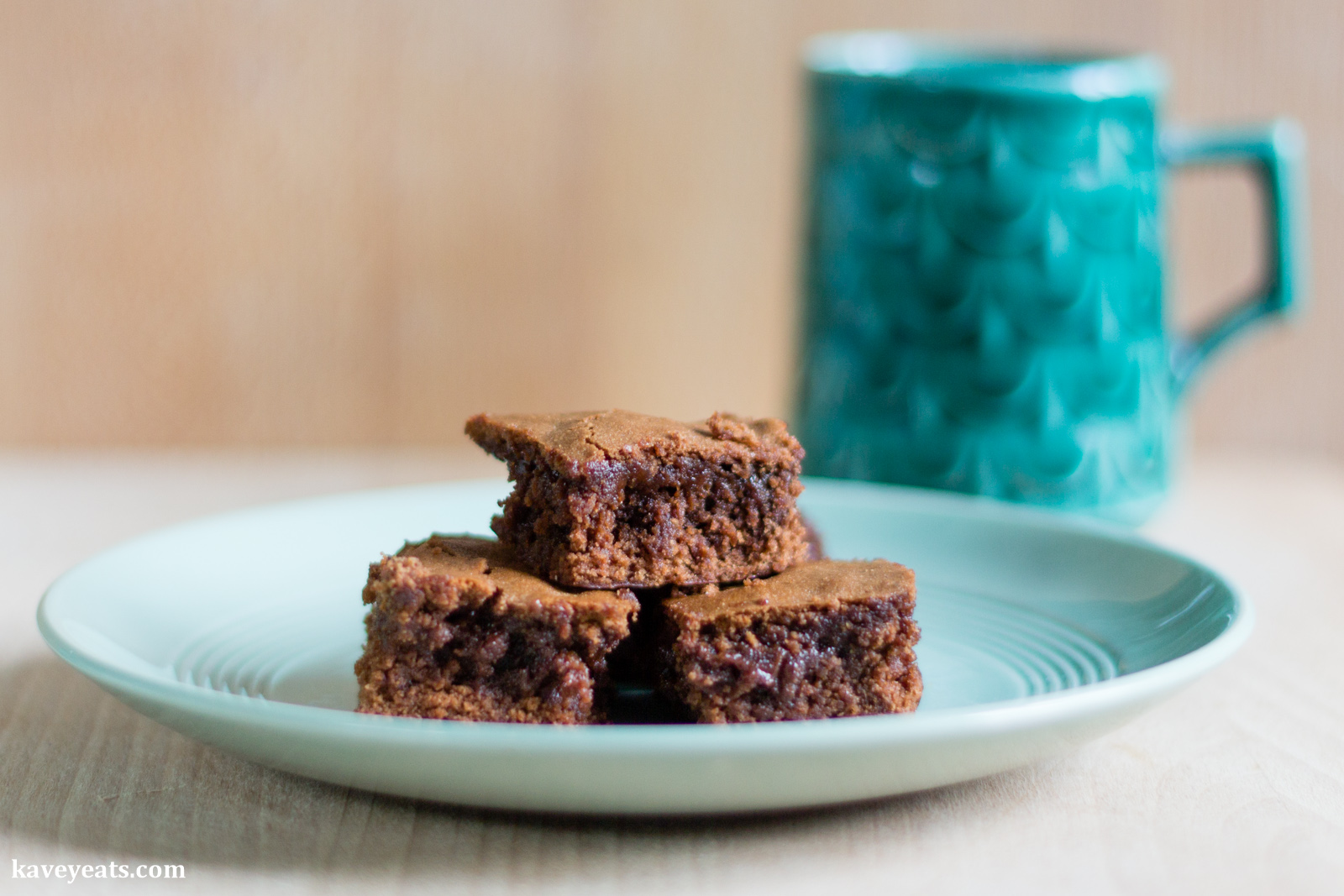 Lebanese-Inspired Carob Molasses & Tahini Chocolate Brownies