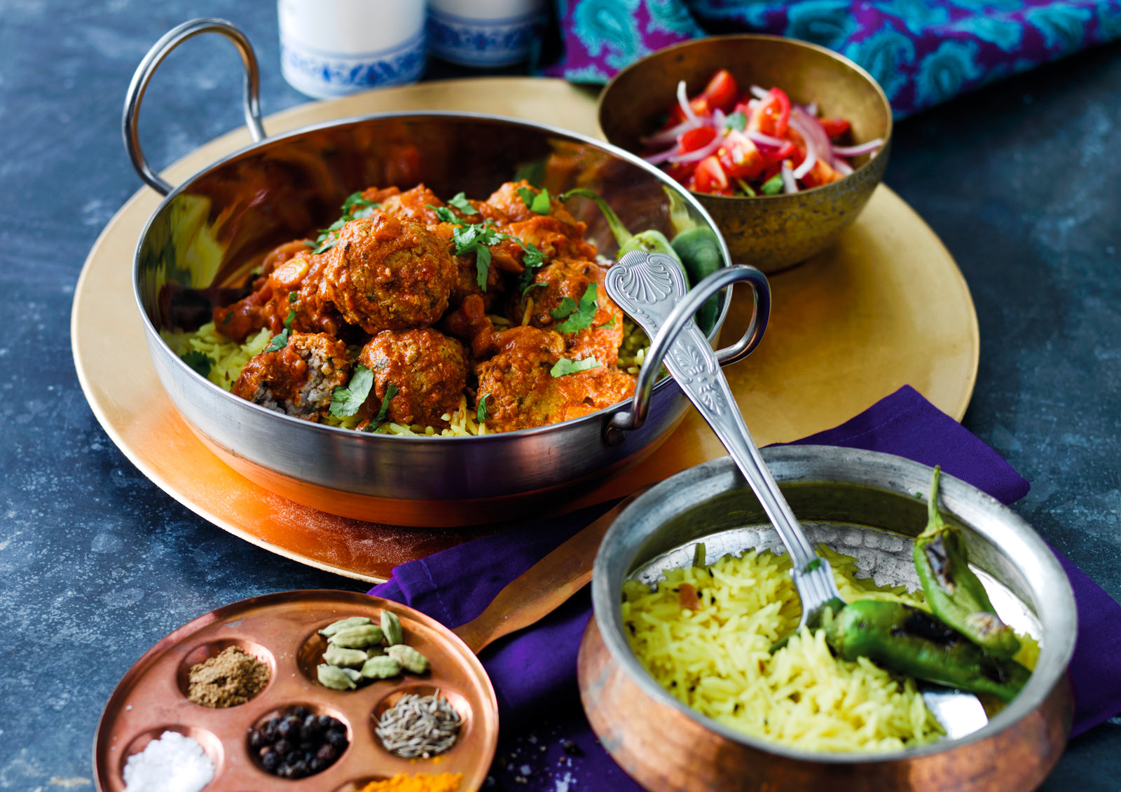 Mamta's Indian Lamb Meatball Curry