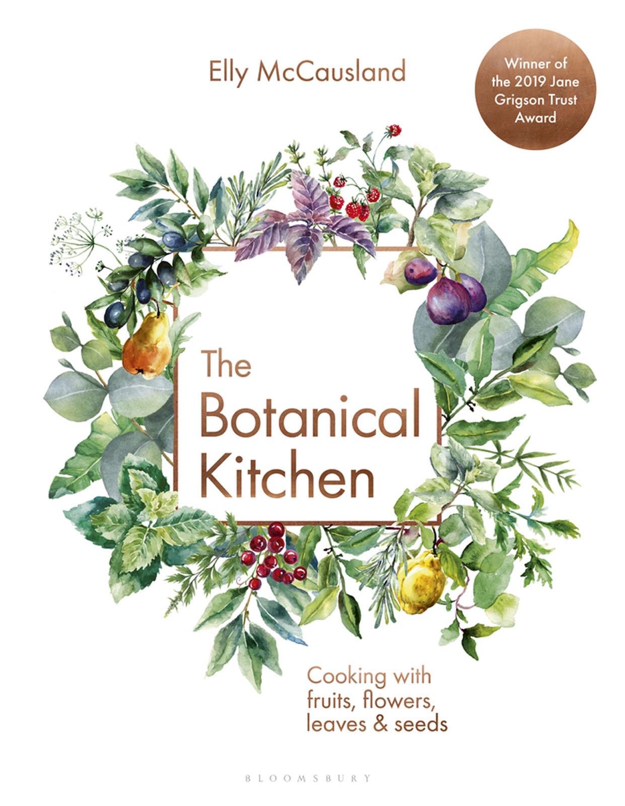 Elly McCausland's The Botanical Kitchen - book jacket