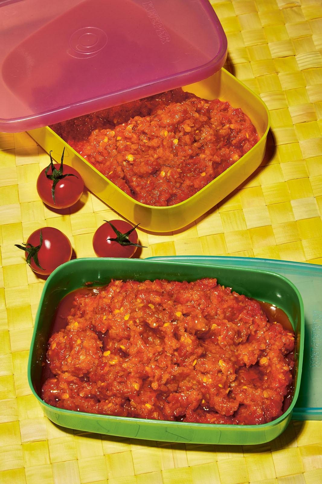 Indonesian Tomato Sambal