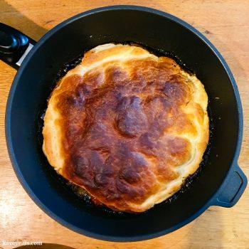Baked Tomato Tarte Tatin