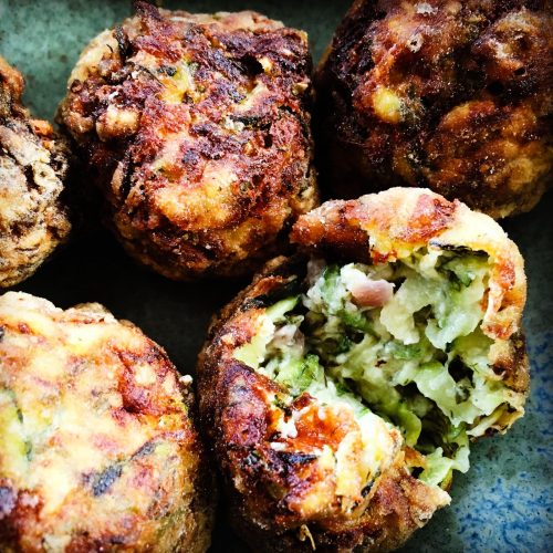 Courgette and Feta Fritters (Aegean)