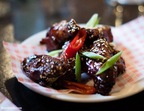 Wings at Hangfire BBQ (Kavey Eats)