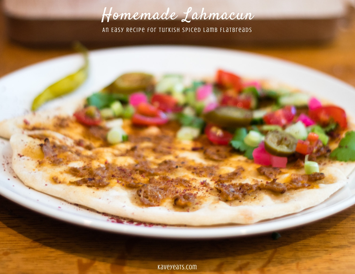 Homemade Lahmacun | An Easy Recipe for Turkish Spiced Lamb Flatbreads