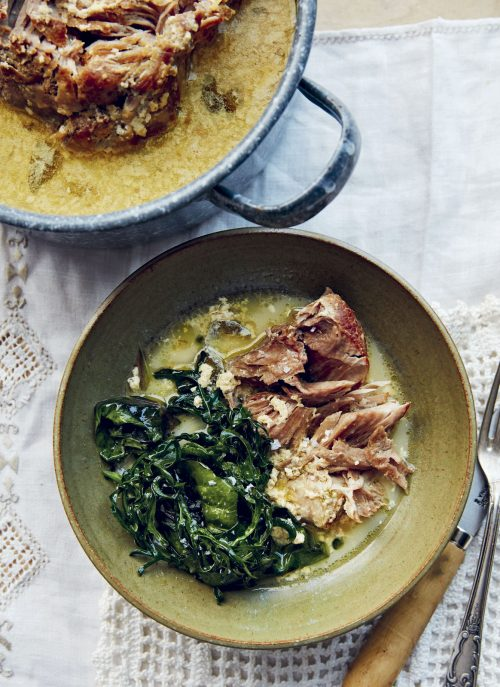 Italian Pork Cooked in Milk with Cloves
