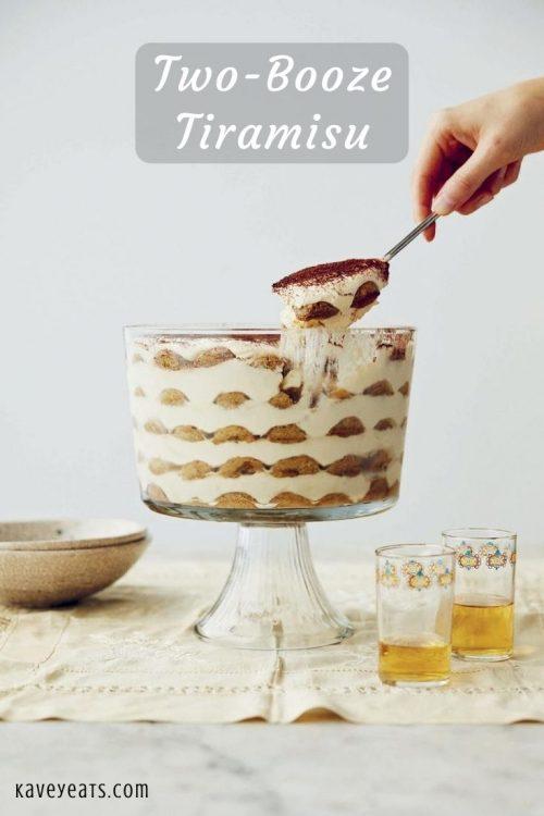 Two-Booze Tiramisu