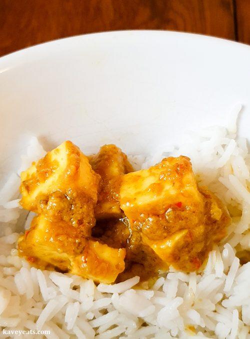 Vegetarian Paneer Rendang