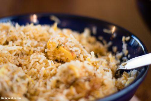 Clays Hyderabadi Kitchen - Paneer Biryani