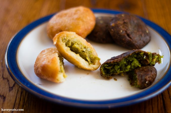 Clays Hyderabadi Kitchen - Peas Pattie and Beetroot Tikki