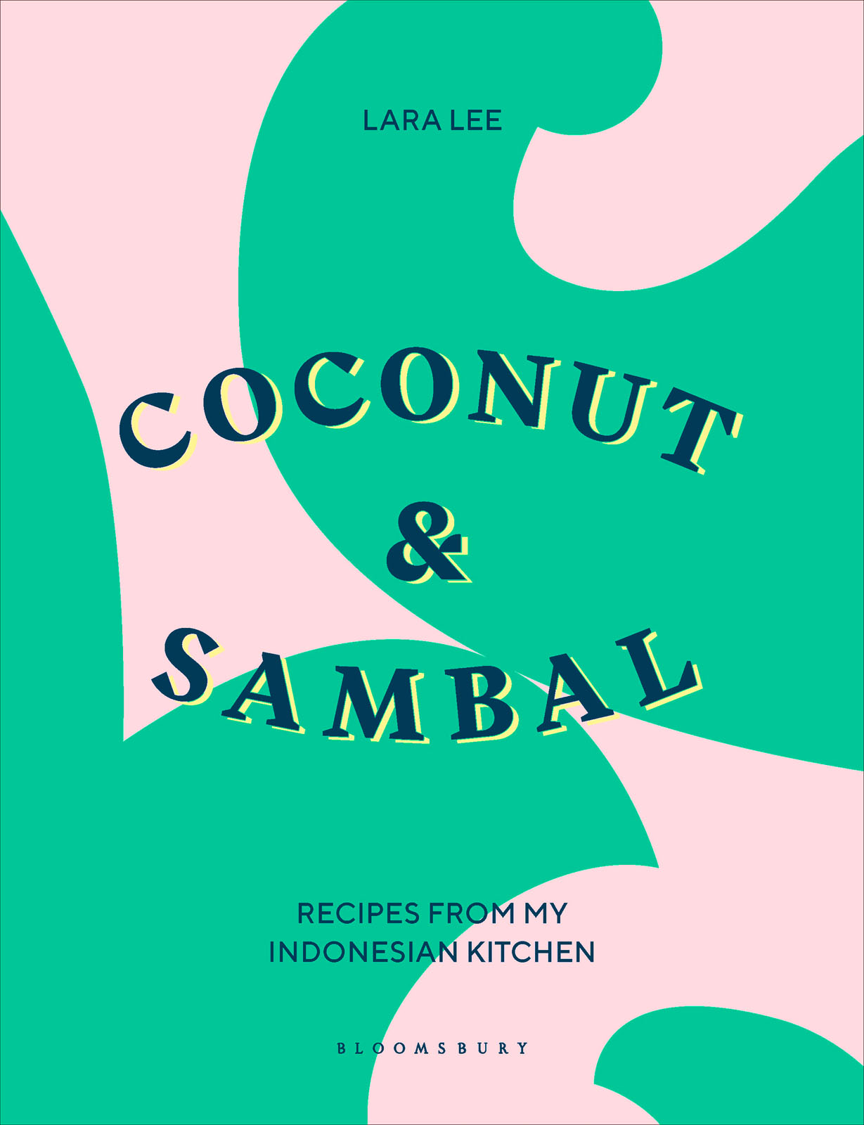 Book cover for Coconut & Sambal by Lara Lee
