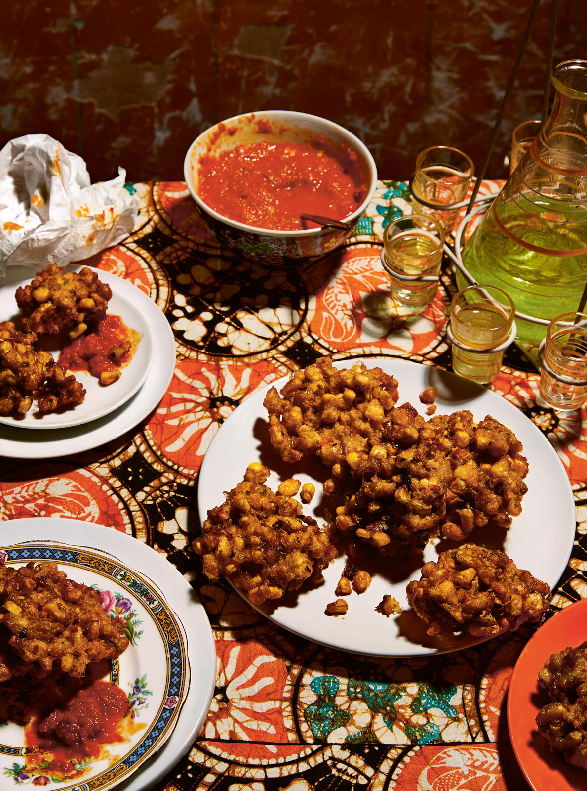Indonesian Spiced Corn Fritters