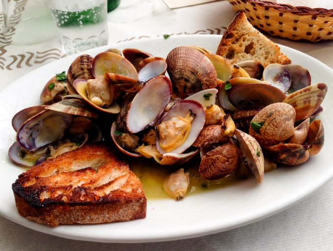Clam Sautee in Napoli (Naples)