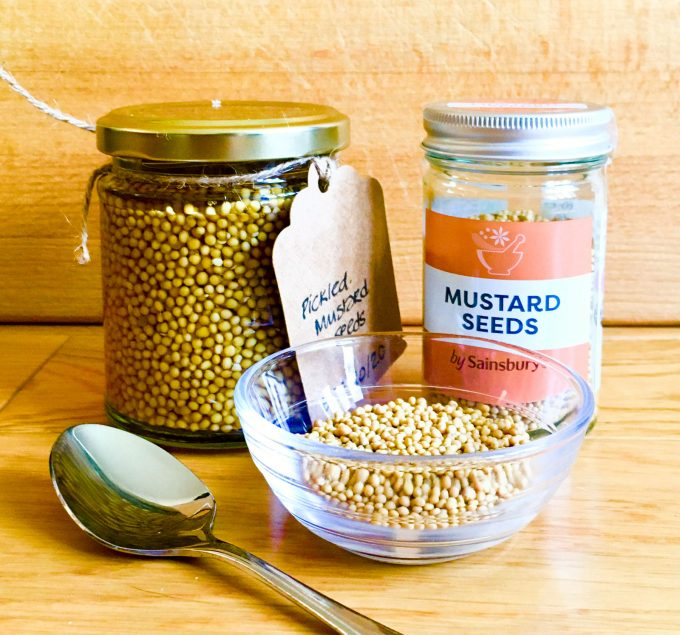 Pickled Mustard from Condiments book