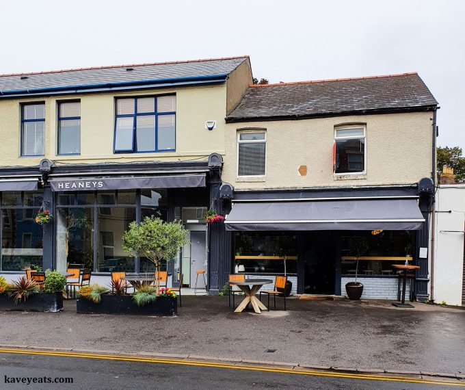 Uisce by Heaneys Cardiff restaurant