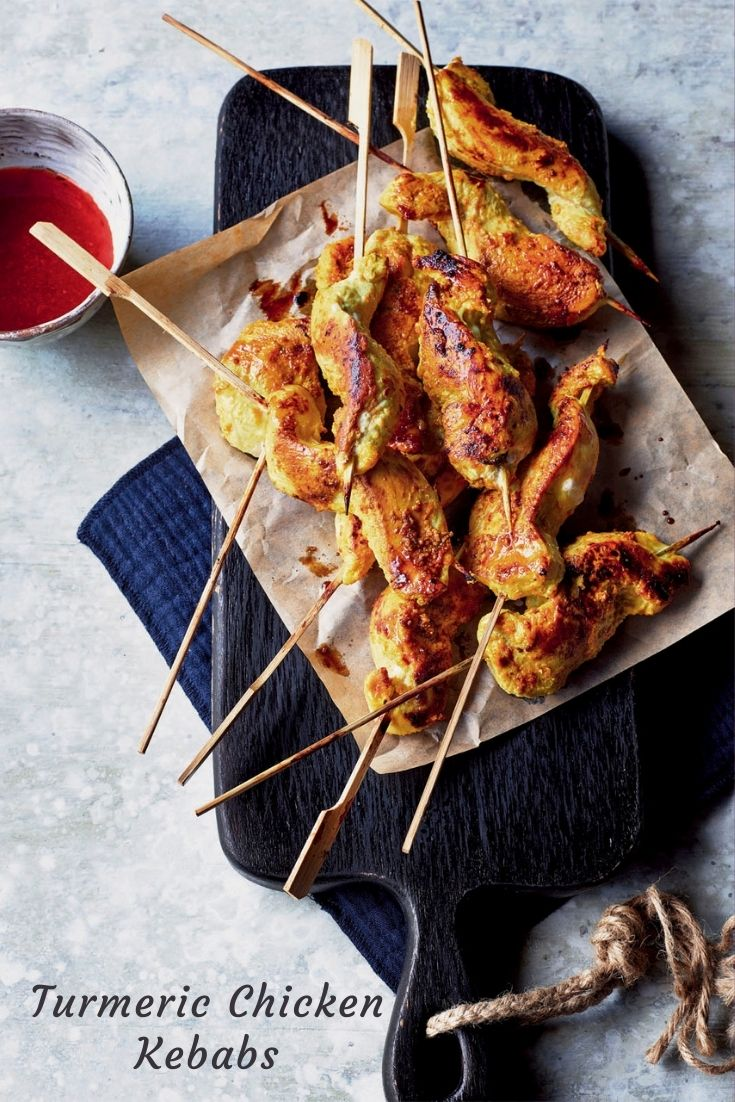 Kavey Eats Turmeric Chicken Kebabs Recipe By Sabrina Ghayour
