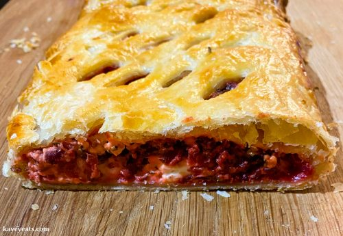 Beetroot lattice from Sabrina Ghayour's Simply cookbook