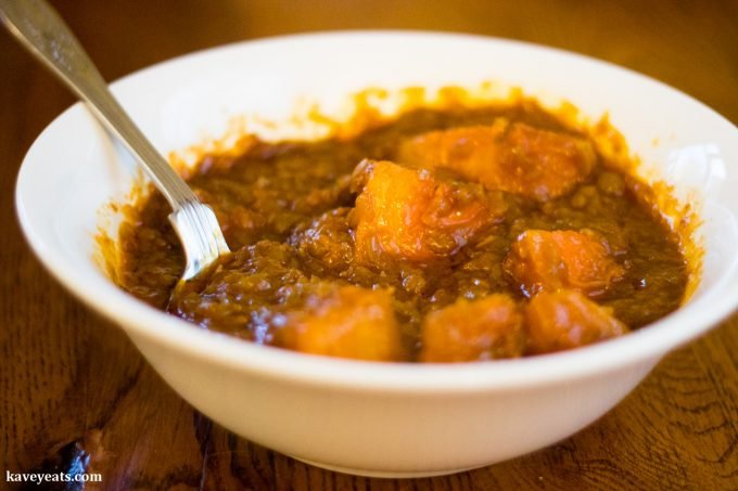 Clays Hyderabadi Kitchen - Dappalam Pumpkin and Butternut Squash Curry